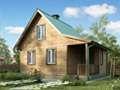 """Дачный дом """"Селигер"""" 6x8 м2"""