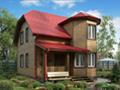 Дом-да Верден (6 x 7.5 м2)